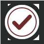 A checkmark icon